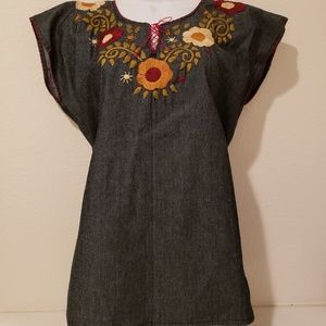 Mexican blouse hand made